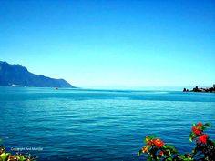 Lake Geneva at Montreaux, Switzerland