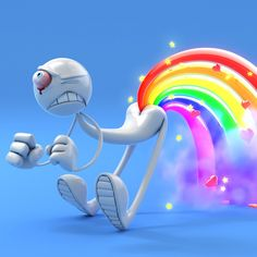 Showing pictures for: Unicorn Farting Rainbows Wallpape