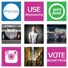 We're very excited to join the Mydubai initiative for the upcoming#MyDubaiTrip campaign!  It's been awhile since we've explored our hometown, and who better to explore with than all of you through #MyDubai!  We'll be showcasing the city's attractions, supporting your favourite local businesses and meeting some of Dubai's colourful personalities with your favourite instagrammers.  We need YOUR help narrowing down our list to 12! Vote for your favourite instagrammers to come see #MyDubai on…