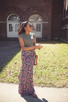 Windy Bliss |Live Love and Read | how to wear a crop top modestly
