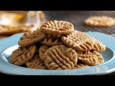 3-Ingredient Peanut Butter Cookies - YouTube