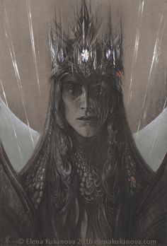 One of the most amazing Morgoth!!! Morgoth by EKukanova.deviantart.com on @DeviantArt