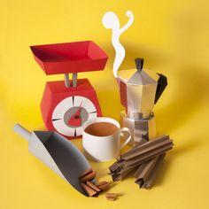 Paper Craft Sculptures Of Food 3