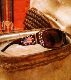 Black American Flag Sunglasses