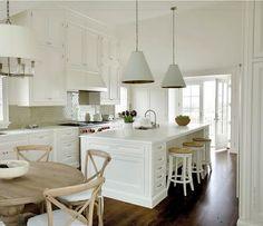 Neutral colours kitchen
