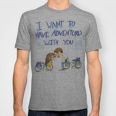 Cutie Patootie T-shirt by KristinMillerArt - $18.00