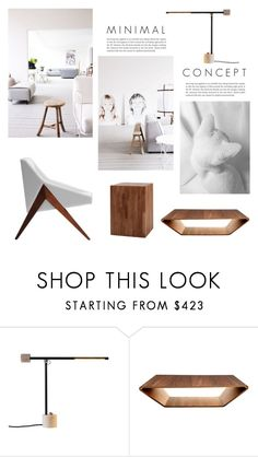 """""""M I N I M A L"""" by tiziana-melera ❤ liked on Polyvore featuring interior, interiors, interior design, home, home decor, interior decorating, Swedese, Moe's Home Collection, design and homedecor"""