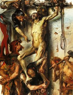 Lovis Corinth - The Large Martyrdom