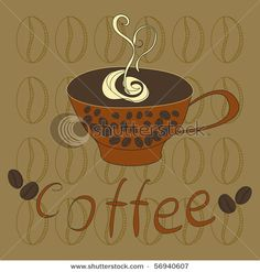 Shutterstock free vector illustration – Cup of coffee can be downloaded today.