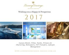 Wishing you a Happy and Prosperous 2017! The Luxury Concierge Team. #LuxuryConcierge #HappyNewYear #2017