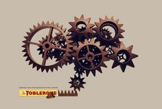 Toblerone: Inspiring Swiss, Cogs  Inspiring Swiss Watchmakers for over a century  Advertising Agency: Saatchi & Saatchi, Dubai, UAE