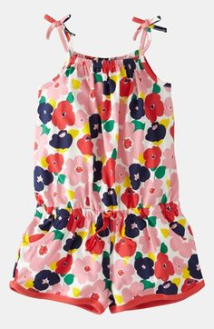 Mini Boden Jersey Playsuit (Toddler) available at #Nordstrom