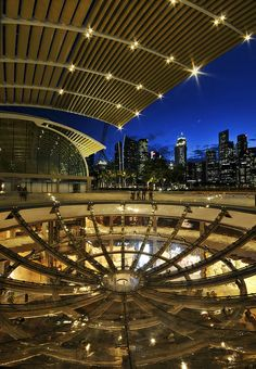 The Shoppes at Marina Bay Sands, Singapore. Singapore Architecture, Architecture Design, Sands Singapore, Night Skyline, City State, Stunning View, Continents, Southeast Asia, Marina Bay Sands