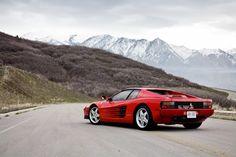 Vintage Ferrari Testarossa. Hey, do remember Don Johnson in Miami Vice? Red or White?