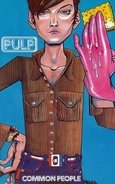 """Common People Comic"", Jamie Hewlett, 1996."