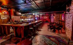 Crane's downtown- Drinks in an old bank vault
