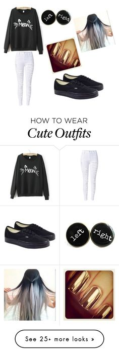 """""""Casual Cute Outfit"""" by explorer-14489630553 on Polyvore featuring Vans"""