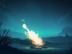 http://theultralinx.com/2015/07/amazing-digital-animations-by-mikael-gustafsson/