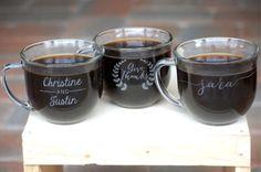 Wedding Favors Personalized Coffee Mugs by UrbanFarmhouseTampa