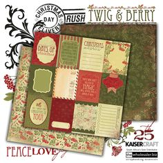 Kaisercraft - Twig & Berry Collection