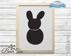 Items similar to Bunny SVG Black Clipart Rabbit Drawing Vector Cut Files for Cricut and Silhouette or Printing on Etsy How To Make Stickers, Clear Stickers, Vector File, Vector Graphics, Bear Clipart, Rabbit Drawing, Handmade Art, As You Like, Planner Stickers