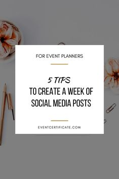 Running an event planning business is a busy job. Setting up social media posts for your event planning business does not have to be an overwhelming or time-consuming process. In this video, I'm sharing the 5 simple steps you can use to create a week's worth of social media content in a snap.