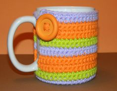 Halloween Crochet Mug Cozy