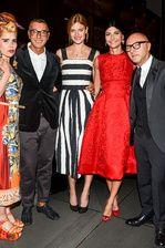 dolce and gabbana boutique nueva york Domenico Dolce Stefano Gabbana gisele bundchen Giovanna Battaglia - Paloma Faith, Constance Jablonski