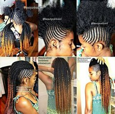 getting this, this week! minus the faux hawk, Love the ombre for fall