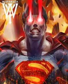 #Superman by @WizYakuza by thegeekrealm