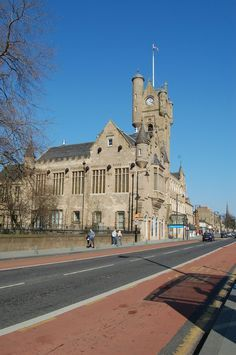 Rutherglen Town Hall is a unique Scottish Baronial Style building, originally constructed in 1862 with a clock tower, and is a famous local landmark. This grade A listed building has played an important part in the history and local life of the burg Glasgow Scotland, Scotland Travel, Gulliver's Travels, Listed Building, Architecture Old, Town Hall, Kirchen, Best Cities, British Isles