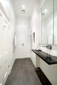 Long Slim Bathroom Ideas   Hledat Googlem | Koupelna | Pinterest | Narrow  Bathroom, Small Narrow Bathroom And Bathroom Designs