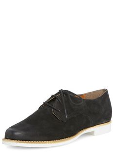 Mel Black leather lace up shoes - View All Shoes & Boots  - Shoes