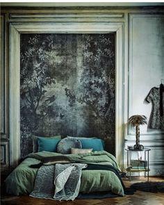 "2,569 Likes, 58 Comments - Jane Rockett (@rockettstgeorge) on Instagram: ""Bedroom drama by @vinterioruk #interiordesign #bedroomdecor #bedroomgoals #bedroom #bedroominspo…"""