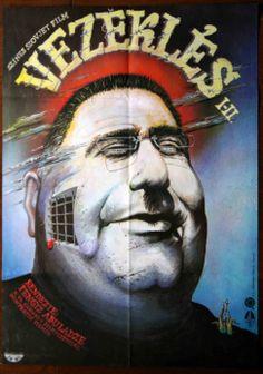 "Vezeklés (1984) ""Monanieba""Repentance Director: Tengiz Abuladze  Hungarian vintage movie poster"
