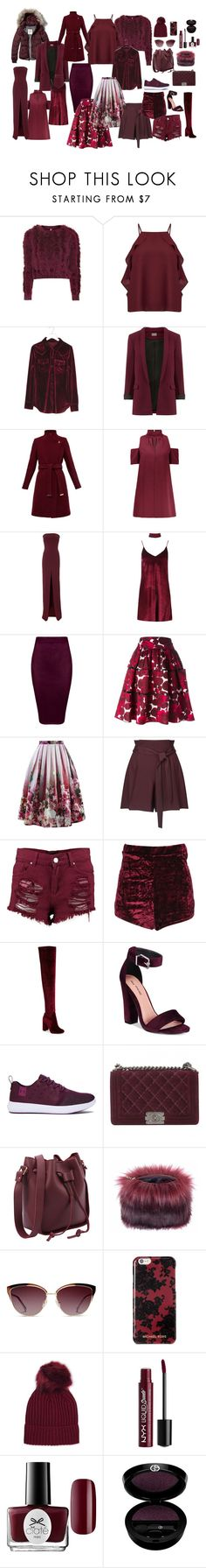 """purple 3"" by azra-99 ❤ liked on Polyvore featuring Topshop, Miss Selfridge, Abercrombie & Fitch, Ted Baker, Solace, Boohoo, Marc Jacobs, Chicwish, Jeffrey Campbell and Call it SPRING"