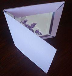 scatola partecipazioni quilling / invitation quilling box