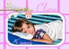 Fotos, edição e montagem: Kátia Alessandra   F.: (11) 99384-0189 5 anos de Clara, com tema Festa do Pijama