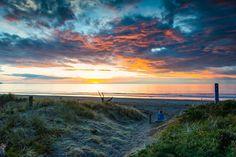 Sunseat your worries away - Otaki Beach in North Island of New Zealand
