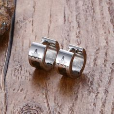 1 Pair Of Vnox Masonic Earrings for Women & Men