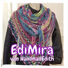 De EdiMira was een mystery cal, maar nu staat het volledige patroon op www.facebook.nl/HandmadEdith en is gratis te downloaden.