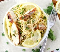 Easy Lemon Chicken Piccata Recipe by The Chunky Chef