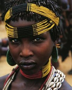 Girl, Omo Valley Ethiopia by olive