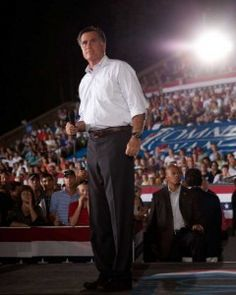 Mitt Romney speaks at a victory rally in New Hampshire on Sept. 7: Among the keys to the presidential race will be each campaign's effort to define Romney.