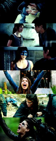 The evolution of Octavia Blake || The 100 || Octavia Blake || Marie Avgeropoulos