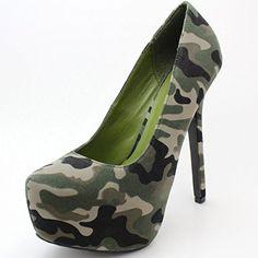 Women's Almond Pointed Toe Vegan Platform Stiletto Pump Green Camouflage, 7 Breckelles http://www.amazon.com/dp/B00KD0M8CK/ref=cm_sw_r_pi_dp_G2.Vub02CXCHB