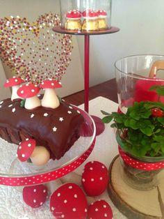 Silvester 2015 Schokoladen-Glückskuchen