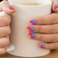 Nail Polish Designs, Nail Art Designs, Nails Design, Gel Polish, Bright Summer Acrylic Nails, Summer Nails, Summer Pedicures, Wedding Nail Polish, Stick On Nails
