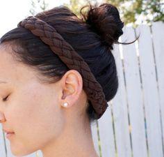 DIY Hair band From T-Shirt Hair Accessories DIY headband