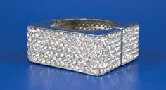 Square pave bangle bracelet by Tony Bowls Accessories #Prom2013